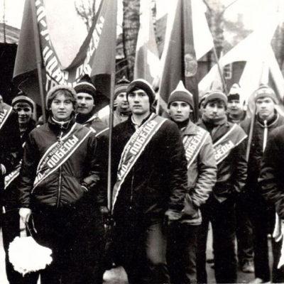 13 лыжных походов совершили учащиеся техникума по местам революционной, боевой и трудовой славы Советского народа