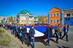 КМК на демонстрации 1 Мая