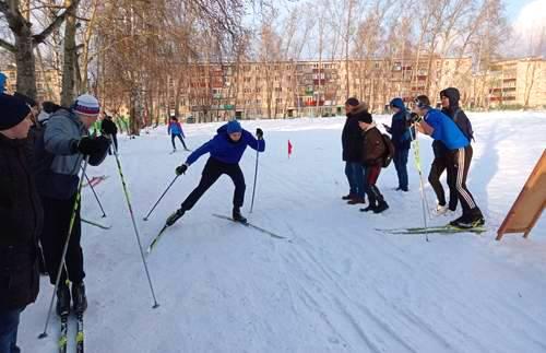 Лыжная эстафета