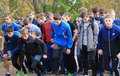 Репортаж о ежегодном осеннем легкоатлетическом кроссе в КМК