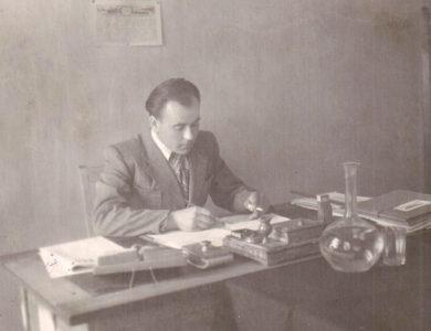 Булин Георгий Николаевич директор техникума с 1945 года по 1952 год